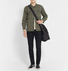 Neighborhood Zebra-Print Cotton Overshirt