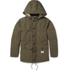 Neighborhood Quilted Cotton-Blend Parka Jacket