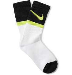 Nike Printed Cotton-Blend Socks