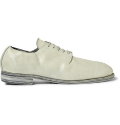 Guidi Leather Derby Shoes