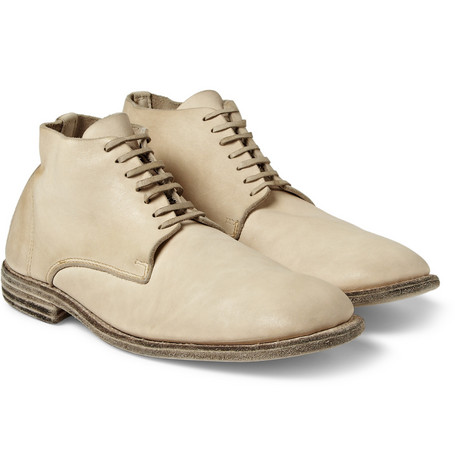 Guidi Leather Lace-Up Boots