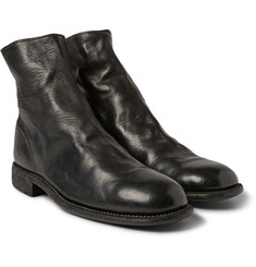 Guidi Leather Chelsea Boots