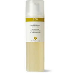 REN Skincare Neroli and Grapefruit Body Wash, 200ml