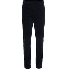 Beams Plus Blue Slim-Fit Corduroy Suit Trousers