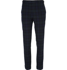 Beams Plus Checked Wool Trousers