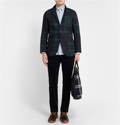Beams Plus Patchwork Harris Tweed Blazer