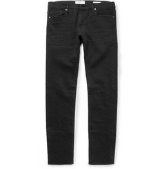 Frame Denim L'Homme Noir Slim-Fit Jeans