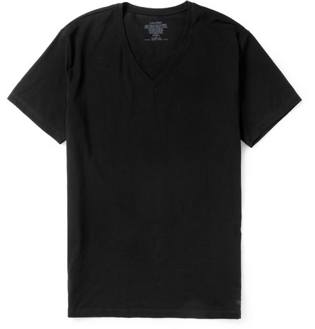 Calvin Klein Underwear Cotton-Jersey V-Neck T-Shirt