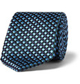 Penrose - Cross-Check Silk Tie