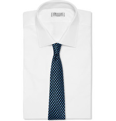 Penrose Cross-Check Silk Tie