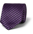 Penrose - Embroidered Woven-Silk Tie
