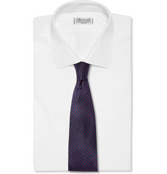 Penrose Patterned Silk Tie