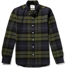 Saturdays Surf NYC Checked Cotton Shirt
