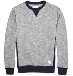 Saturdays Surf NYC Bowery Two-Tone Cotton Sweatshirt