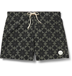 Saturdays Surf NYC Colin Printed Swim Shorts
