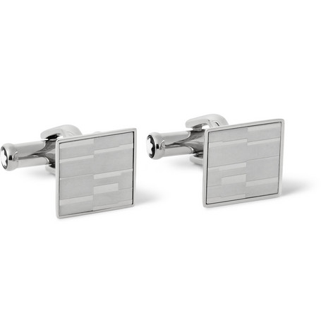 Montblanc Mystery Stainless Steel Cufflinks