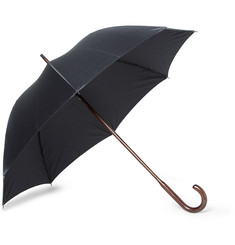 London Undercover Maple Handle Houndstooth Umbrella