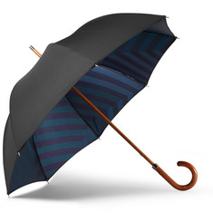 London Undercover Stripe-Lined Umbrella