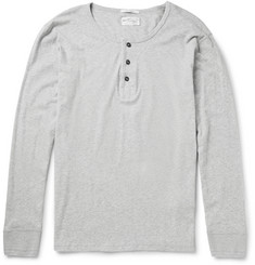 Gant Rugger Cotton-Jersey Henley T-Shirt