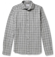 Gant Rugger Windowpane-Check Cotton-Flannel Shirt