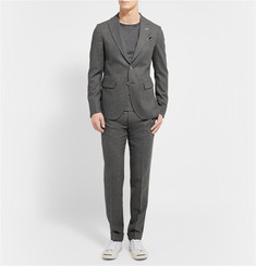 Gant Rugger Charcoal Slim-Fit Wool Suit Jacket