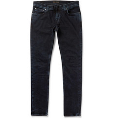 Nudie Jeans Tight Long John Slim-Fit Rinsed-Denim Jeans