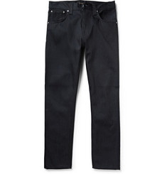 Nudie Jeans Steady Eddie Slim-Fit Organic Dry-Denim Jeans