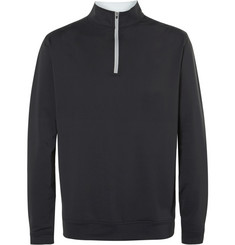 Peter Millar Perth Stretch-Jersey Zip-Neck Golf Sweater