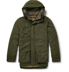 Musto Shooting Whisper Faux-Suede Gore-Tex Shooting Jacket