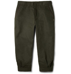 Musto Shooting Sporting Breeks Brushed-Twill Cotton-Blend Cropped Trousers