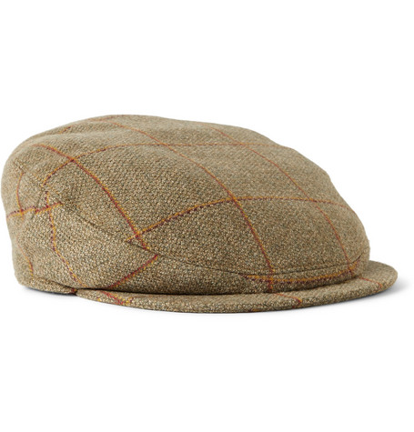 Musto Shooting Carrick Technical Tweed Flat Cap