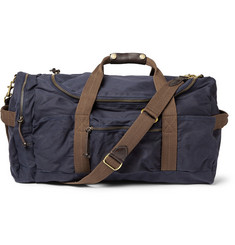 J.Crew Abingdon Waxed Cotton-Canvas Holdall