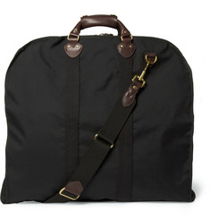 J.Crew Leather and Canvas Garment Bag