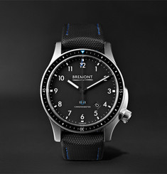 Bremont Model 1/BK/SS Automatic Chronometer Watch