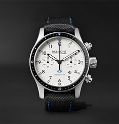 Bremont Boeing Model 247 Automatic Chronometer 43mm Stainless Steel Watch, Ref. No. MODEL247/WH/SS