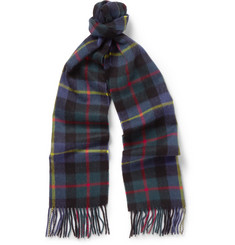 J.Crew Checked Cashmere Scarf