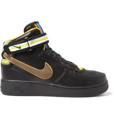 Nike Riccardo Tisci Air Force 1 Leather Mid Top Sneakers