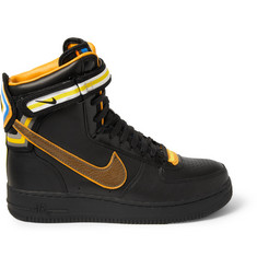Nike + Riccardo Tisci Air Force 1 Hi Leather Sneakers
