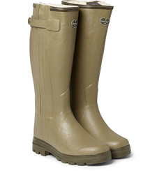 Le Chameau - Chasseur Shearling-Lined Wellington Boots