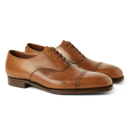George Cleverley Charles Leather Oxford Brogues