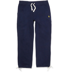 Polo Ralph Lauren Fleece-Back Cotton-Blend Jersey Sweatpants