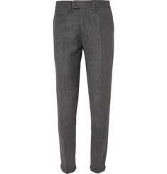 NN.07 Soho Dark-Grey Slim-Fit Wool-Blend Suit Trousers
