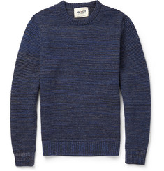 NN.07 Toby Ribbed-Knit Wool-Blend Sweater