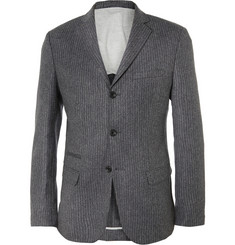 NN.07 Soho Dark-Grey Slim-Fit Wool-Blend Suit Jacket