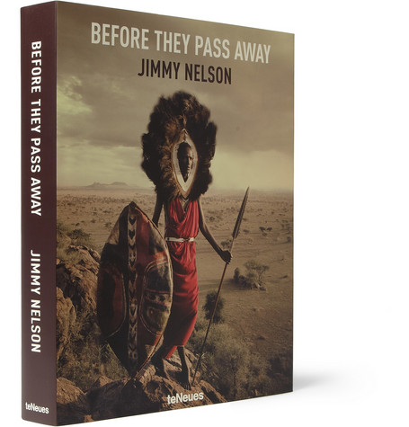 TeNeues Before They Pass Away By Jimmy Nelson Hardcover Book
