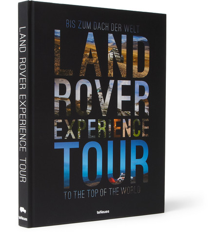 TeNeues Land Rover Experience Tour Hardcover Book