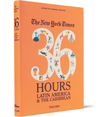 Taschen The New York Times 36 Hours: Latin America and The Caribbean Cloth-Bound Book