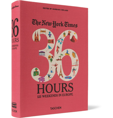 Taschen The New York Times 36 Hours: 125 Weekends In Europe Cloth-Bound Book
