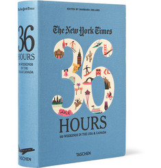 Taschen The New York Times 36 Hours: 150 Weekends In The USA & Canada Cloth-Bound Book