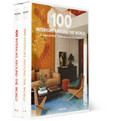 Taschen 100 Interiors Around The World Set of 2 Books